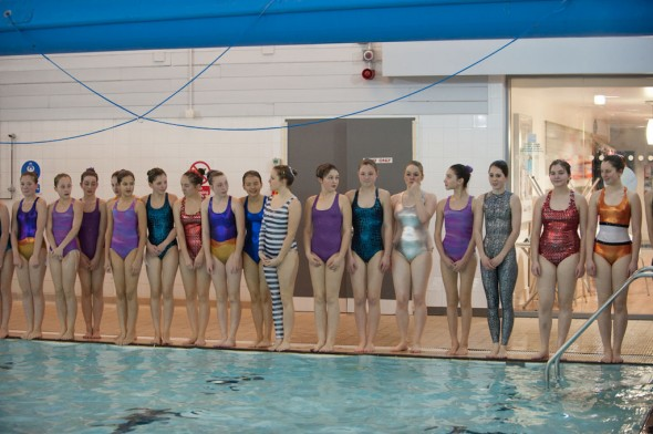 Henley Synchronised Swimming Club - Christmas show photo