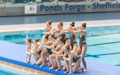 British Synchronised Swimming Championships Sheffield 2014