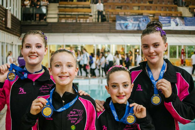 Henley Synchronised Swimming Club Win Gold